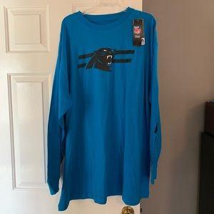 NWT Men's Carolina Panthers long sleeve t-shirt